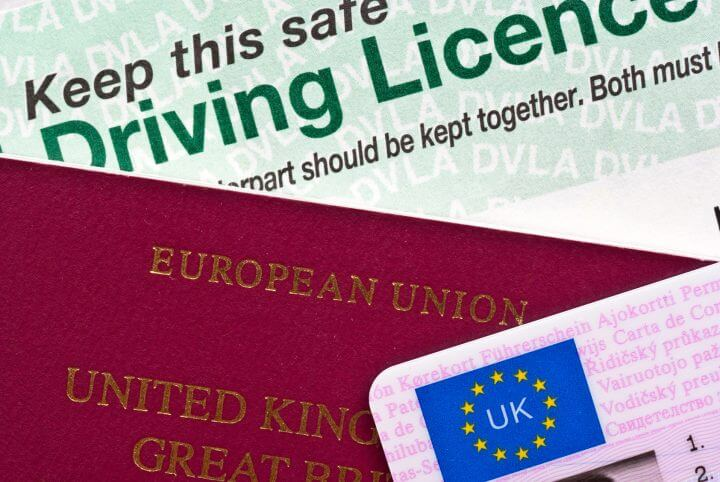 UK Passport and Driving Licence